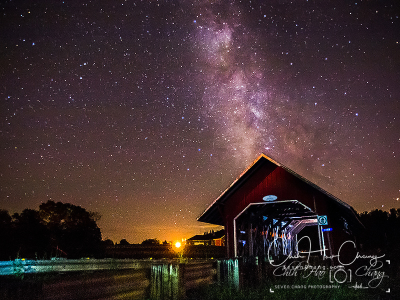 Milky way -  south of Montreal