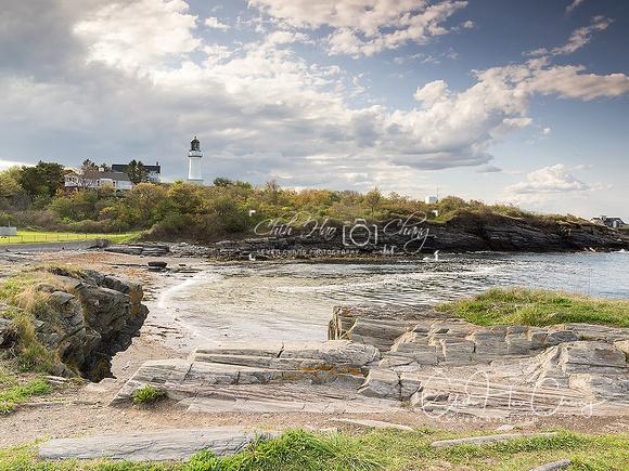 Maine-Cape Elizabeth Lighthouse